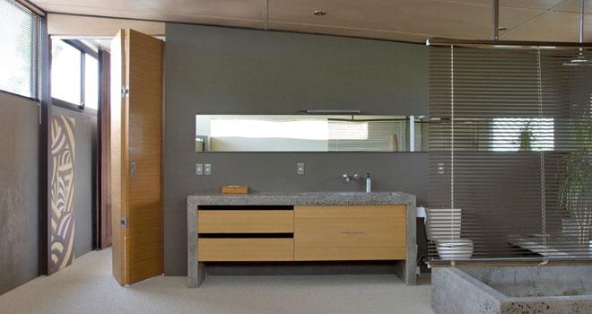 loft bathroom at clio bali seminyak